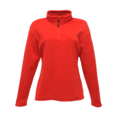 Dames Micro Zip Fleece korte rits