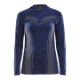 Craft Pro Control seamless jersey ls wmn navy xs