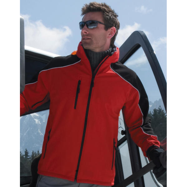 Ice Fell Hooded Softshell Jack