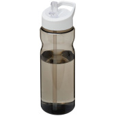 H2O Base® 650 ml bidon met fliptuitdeksel - Charcoal/Wit