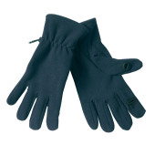 Text Gloves Navy Navy 1 size L/XL