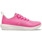 Basket crocs™ literide™ pacer kinderen electric pink / white '27/28 eu (c10 us)