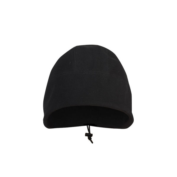 9014 FLEECE CAP BLACK