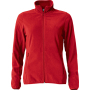 Clique Basic Micro Fleece Jacket Ladies rood xxl