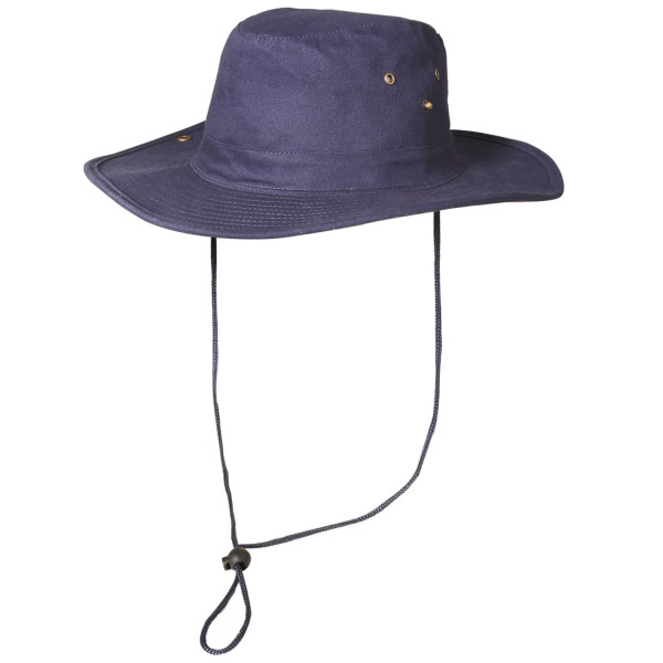 Bush Hat Navy Navy 58 cm