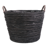 SENZA Willow Basket Grey