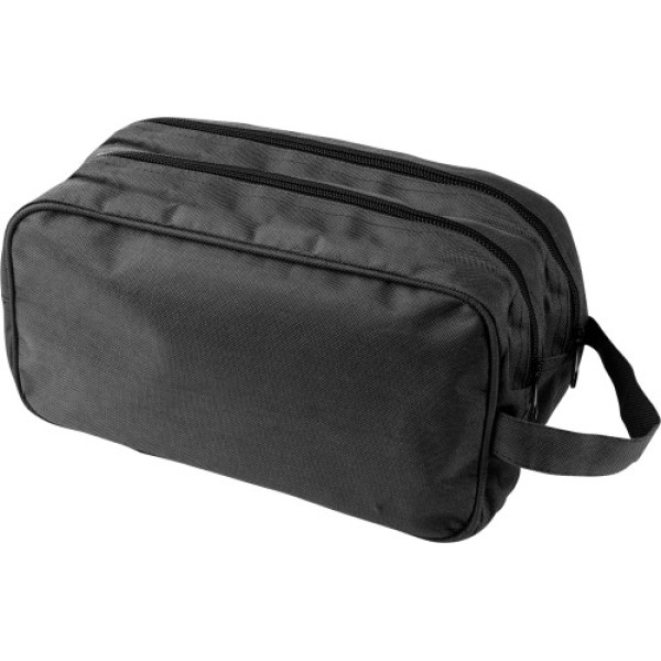 Polyester (600D) toilet bag