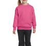 Gildan Sweater Crewneck HeavyBlend for kids safety pink XS