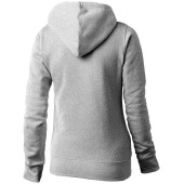 Alley dames sweater met capuchon - Grijs gemeleerd - XL