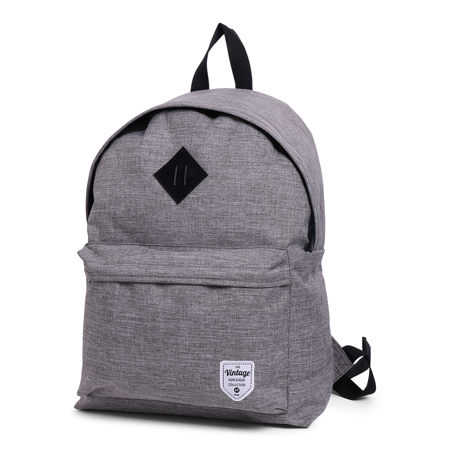 Vintage Twin Tone Backpack Grey