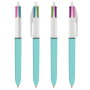 4 Colours Fashion balpen LP light Blue_UP white_RI Black