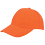 Turned Brushed Cap Oranje acc. Oranje