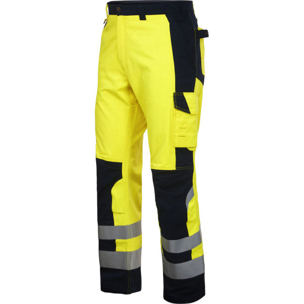 8504 FLAME RETARDANT HIGH VISIBILITY TROUSERS