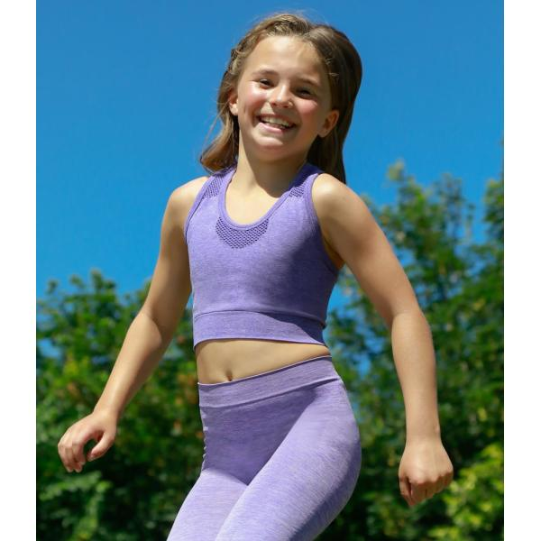 Kids Seamless Crop Top