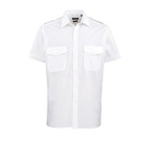 Men's short-sleeved pilot shirt