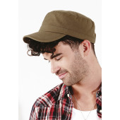 Army cap natural one size