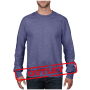 Anvil Sweater Crewneck French Terry for him Heather Blue-35% Korting S
