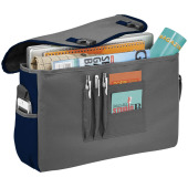 Punch 15.6'' laptop tas - Grijs/Navy