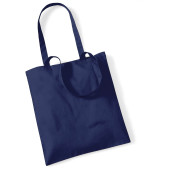 Bag for life - long handles french navy one size