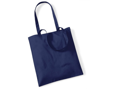 Shopper bag long handles
