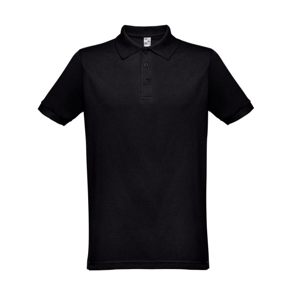 THC BERLIN. Men's polo shirt