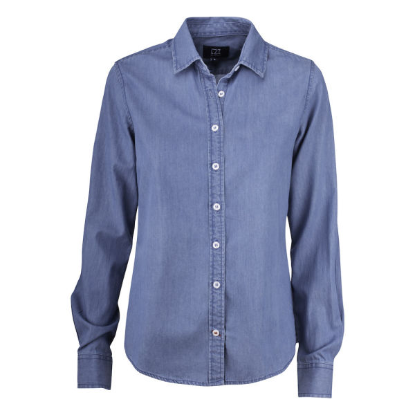 Cutter & Buck Ellensburg Denim Shirt Ladies