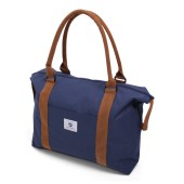 Vintage Beachbag Deluxe Blue & Brown