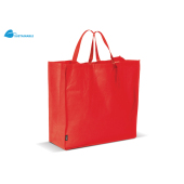 Boodschappentas non-woven 75g/m² rood