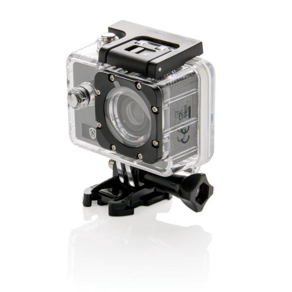 Swiss Peak action camera set, grijs