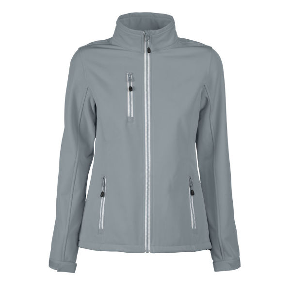 PRINTER VERT LADY SOFTSHELL JACKET