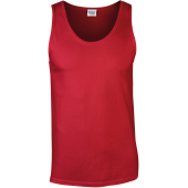 Softstyle® euro fit adult tank top red s