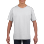Gildan T-shirt SoftStyle SS for kids White XS