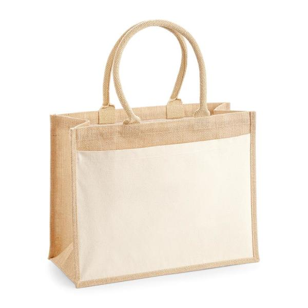Pocket Jute Shopper