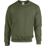 Heavy blend™ adult crewneck sweatshirt military green xxl