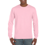Gildan T-shirt Ultra Cotton LS Light Pink L