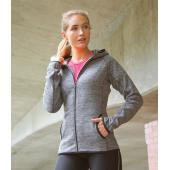 Ladies Micro Fleece Hoodie