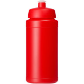 Baseline® Plus 500 ml drinkfles met sportdeksel - Rood