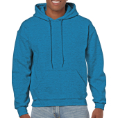 Gildan Sweater Hooded HeavyBlend for him Antique Sapphire M