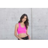 Women's workout cropped top