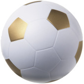 Football anti-stress bal - Goud/Wit