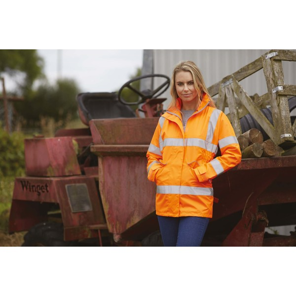 Hi-vis ladies' executive jacket