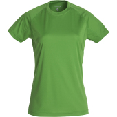 Active-T Ladies t-shirt appelgroen l