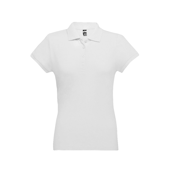 THC EVE WH. Women's polo shirt