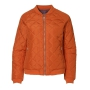Casual Catalina ladies' jacket Dark orange, 3XL