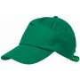 5 panel katoenen baseball cap RACING - groen