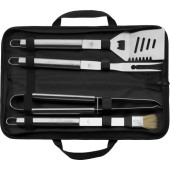 RVS barbeque set