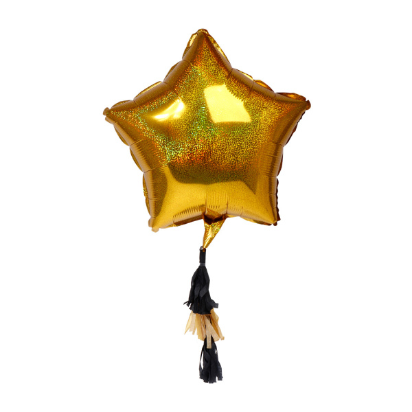 SENZA Star Foil Balloon Gold