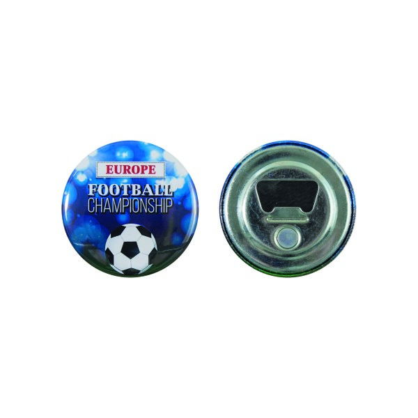 Fles opener en magneet button 56 mm