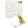 101 mm x 101 mm 25 Sheet Ad Notepads ECO Recycled paper