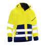 1273 Shell jacket hi-vis yellow/navy 3xl